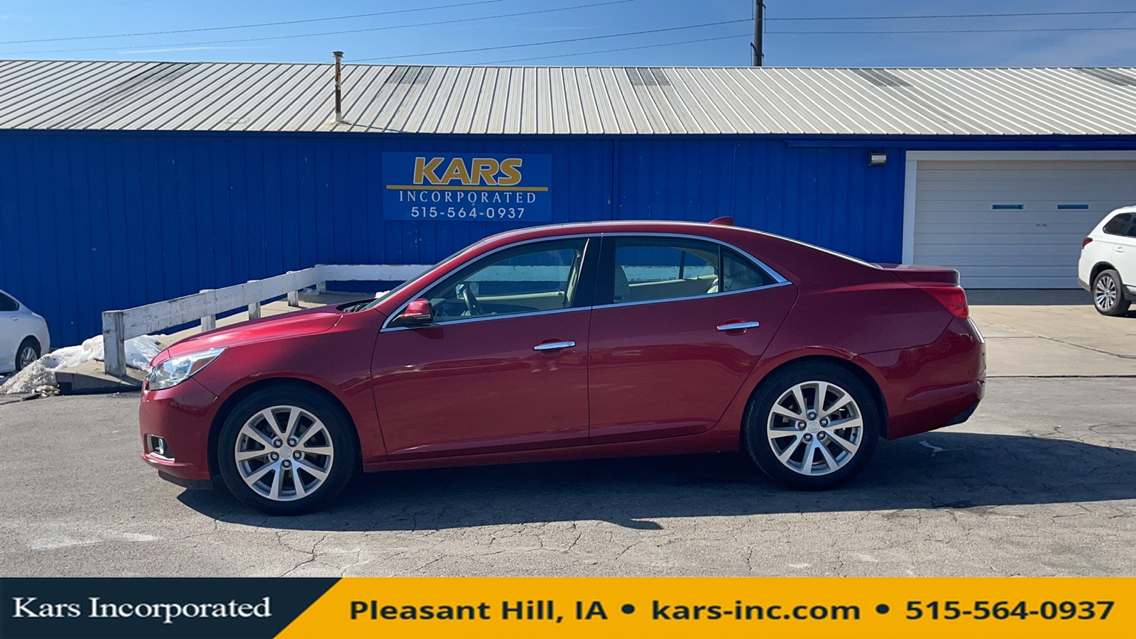 2014 Chevrolet Malibu LTZ  - E45617P  - Kars Incorporated