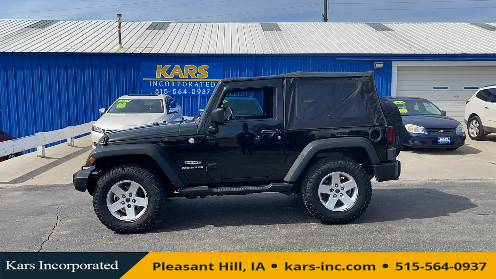 2010 Jeep Wrangler SPORT 4WD  - A13835P  - Kars Incorporated