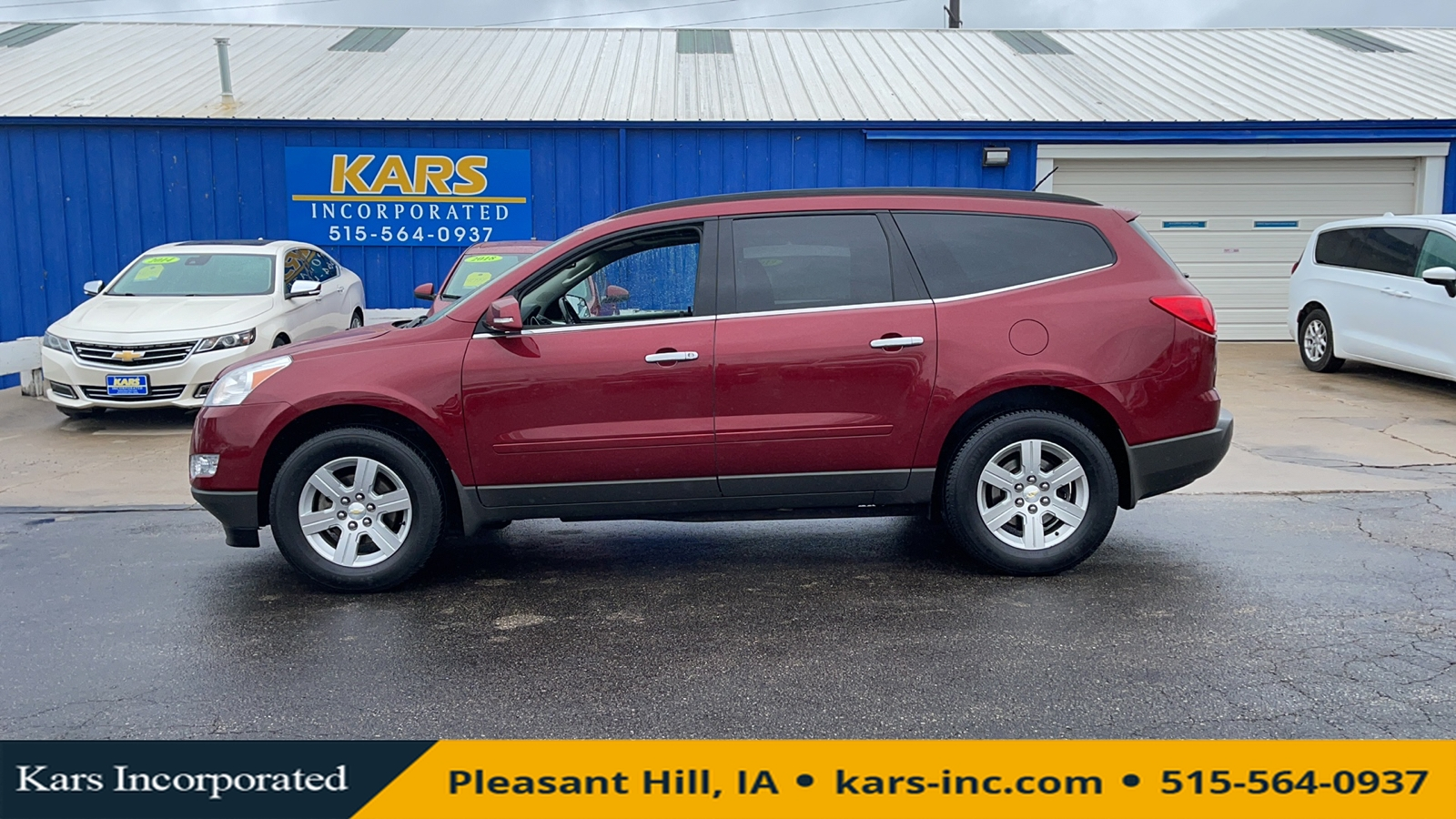 2010 Chevrolet Traverse LT AWD  - A67744P  - Kars Incorporated