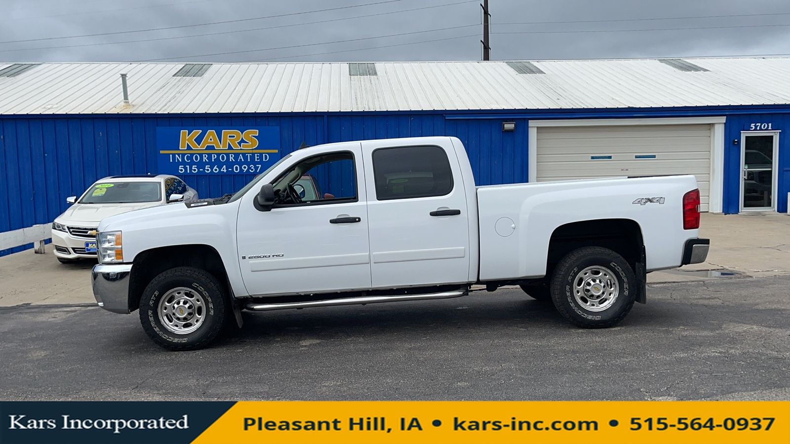 2007 Chevrolet Silverado 2500HD HEAVY DUTY 4WD Crew Cab  - 729295P  - Kars Incorporated
