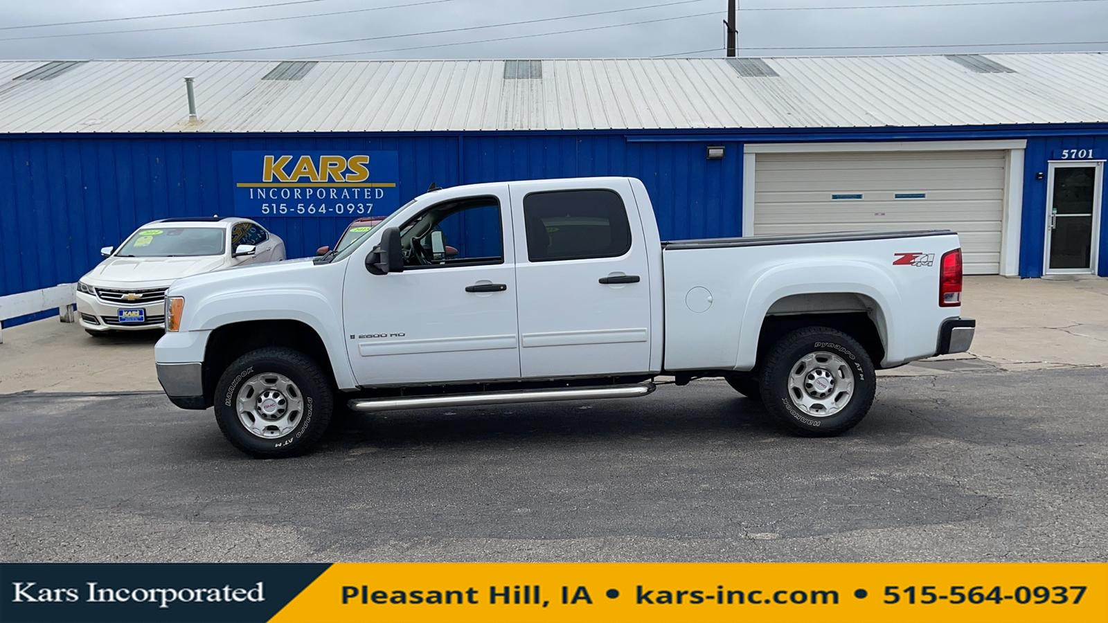 2009 GMC Sierra 2500HD 2500 SLE 4WD Crew Cab  - 918381P  - Kars Incorporated