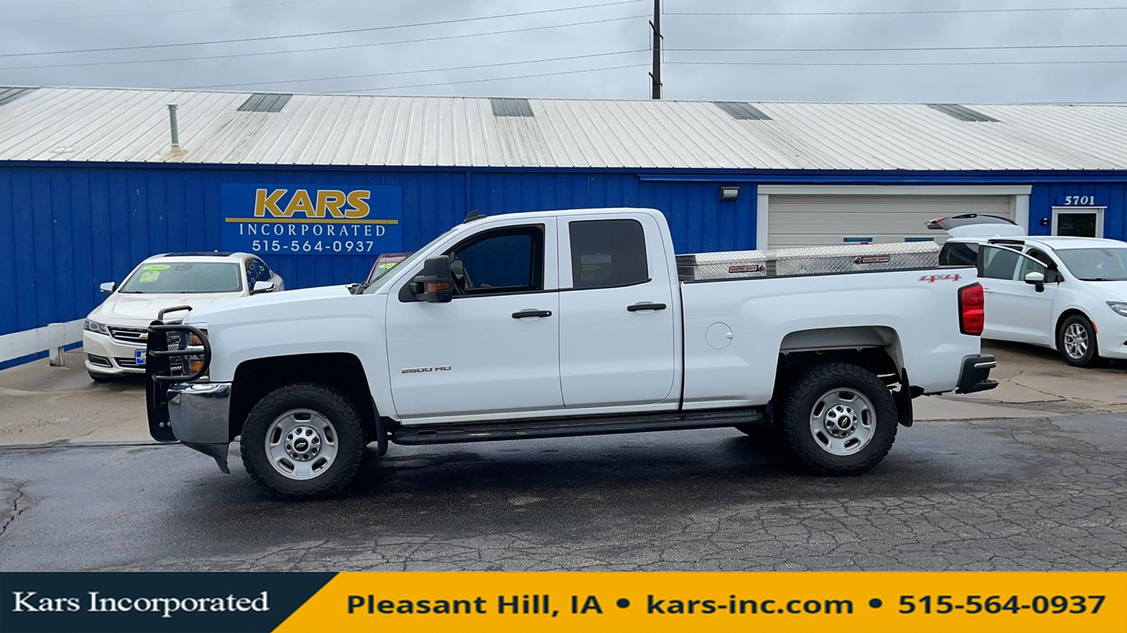 2015 Chevrolet Silverado 2500HD HEAVY DUTY 4WD  - F08511P  - Kars Incorporated