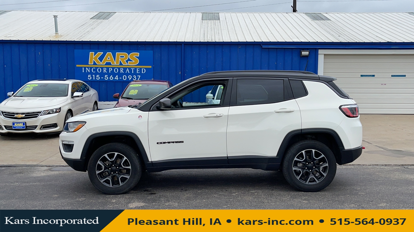 2019 Jeep Compass TRAILHAWK  - K95419P  - Kars Incorporated
