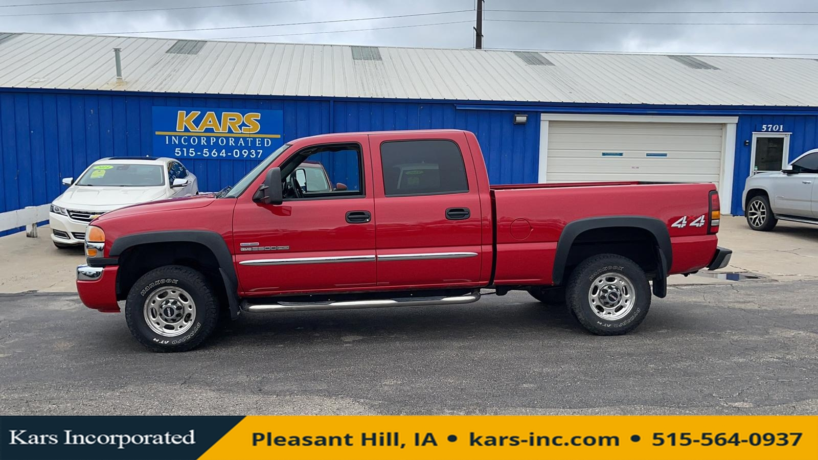 2006 GMC Sierra 2500HD 2500 HEAVY DUTY 4WD Crew Cab  - 613123P  - Kars Incorporated