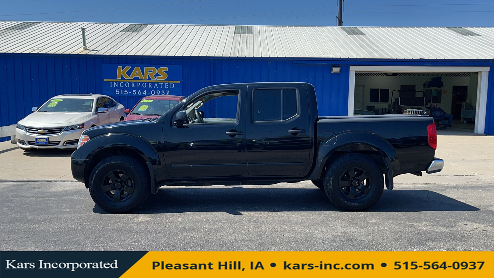 2012 Nissan Frontier S 4WD Crew Cab  - C71542P  - Kars Incorporated