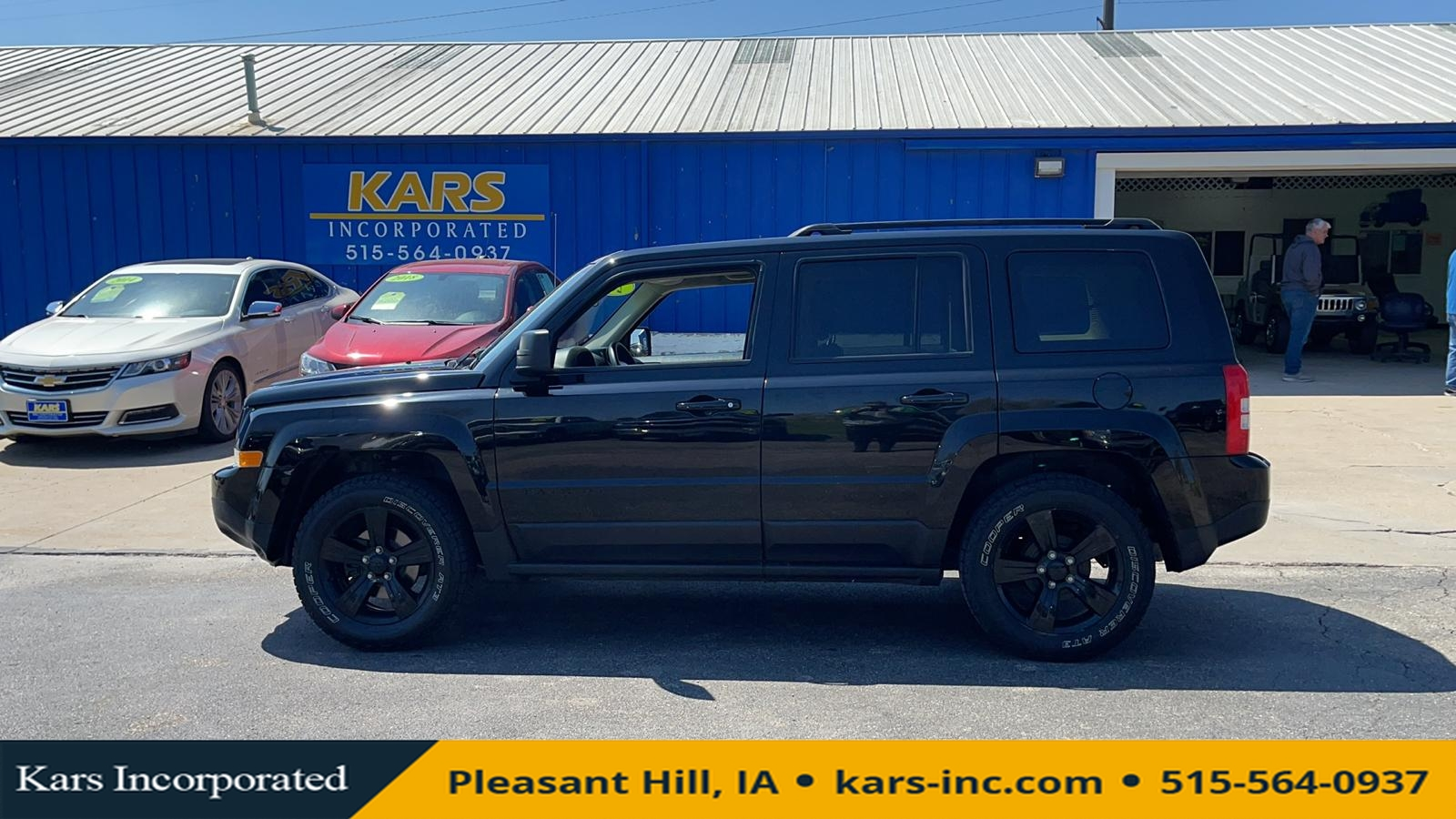 2015 Jeep Patriot SPORT  - F47369P  - Kars Incorporated