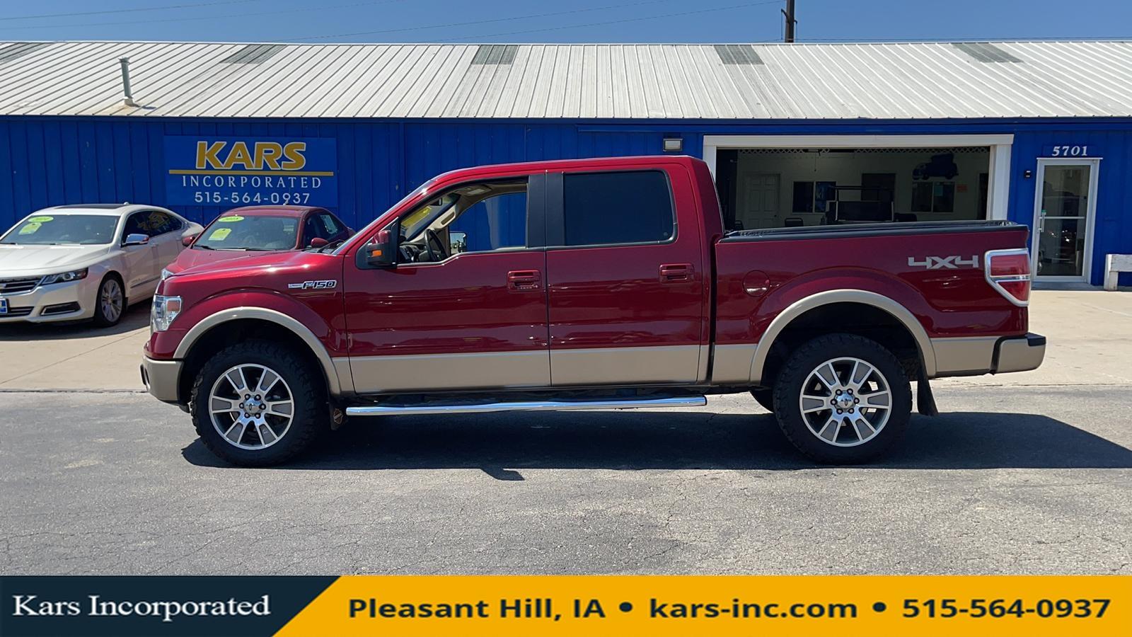 2014 Ford F-150 SUPERCREW 4WD  - E00087P  - Kars Incorporated