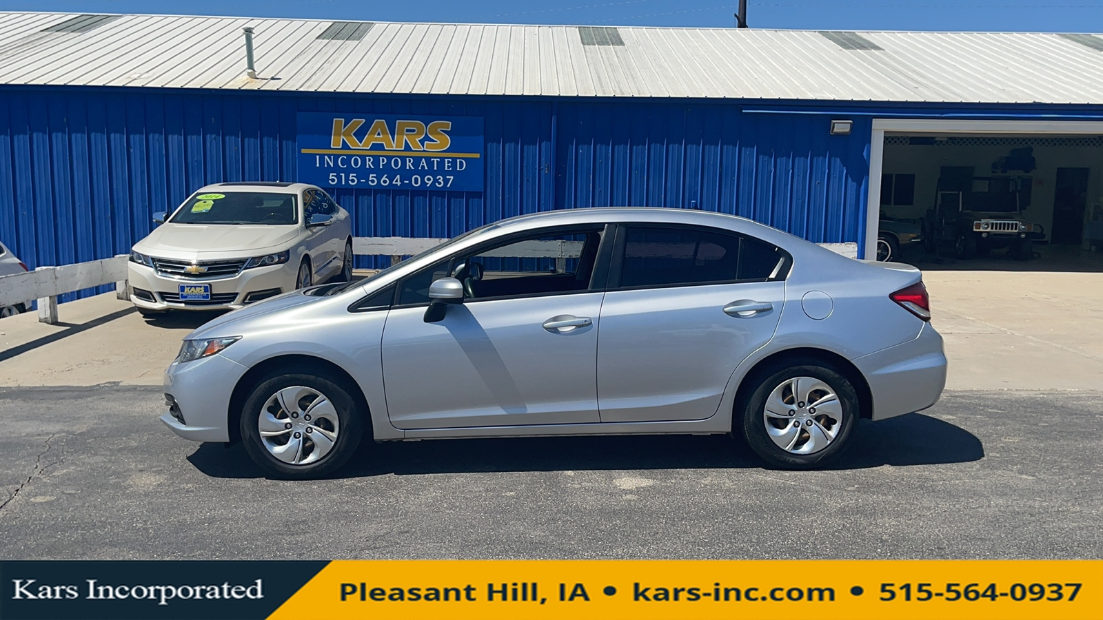 2014 Honda Civic  - Kars Incorporated