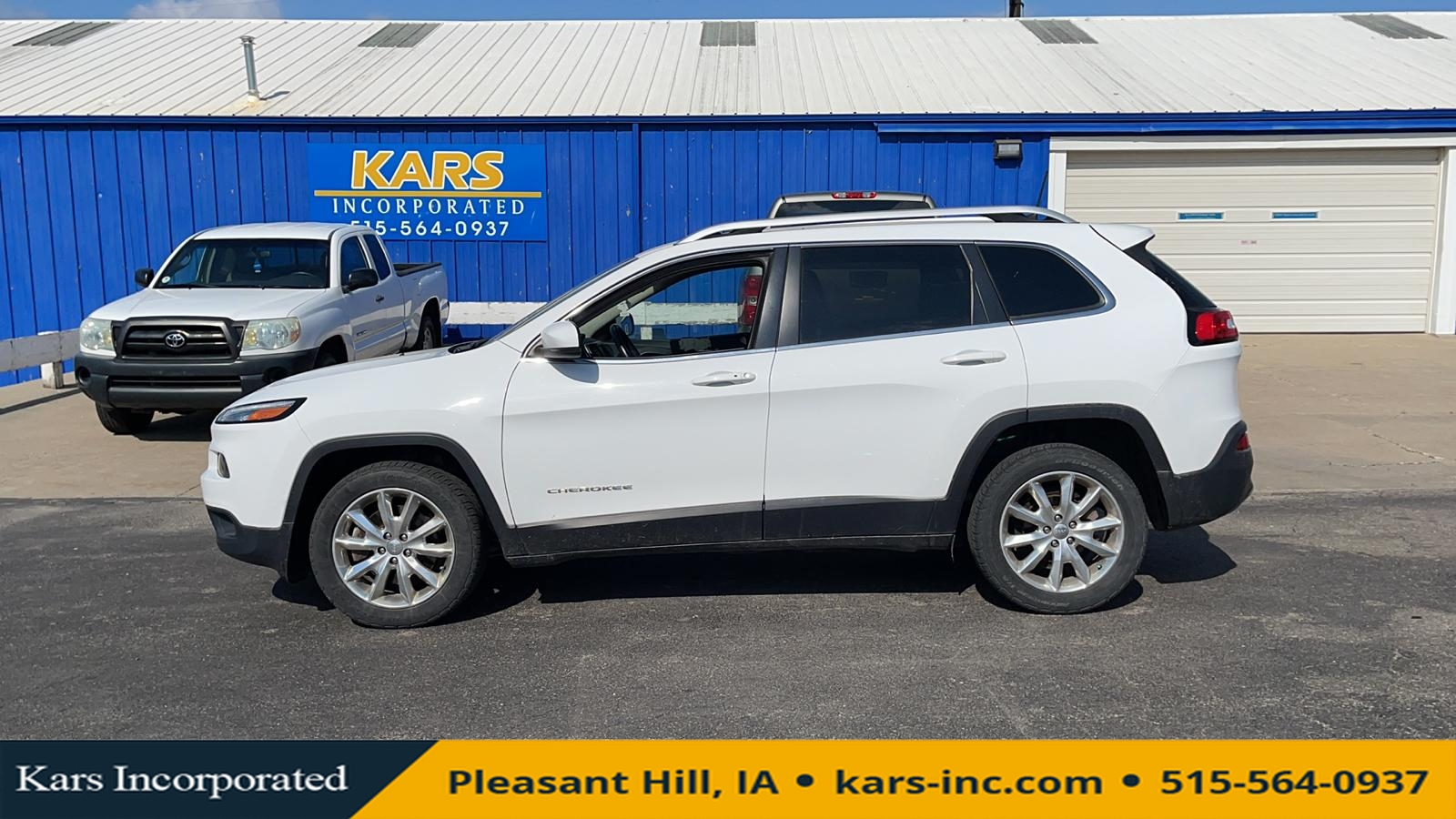 2016 Jeep Cherokee LIMITED  - G40985P  - Kars Incorporated