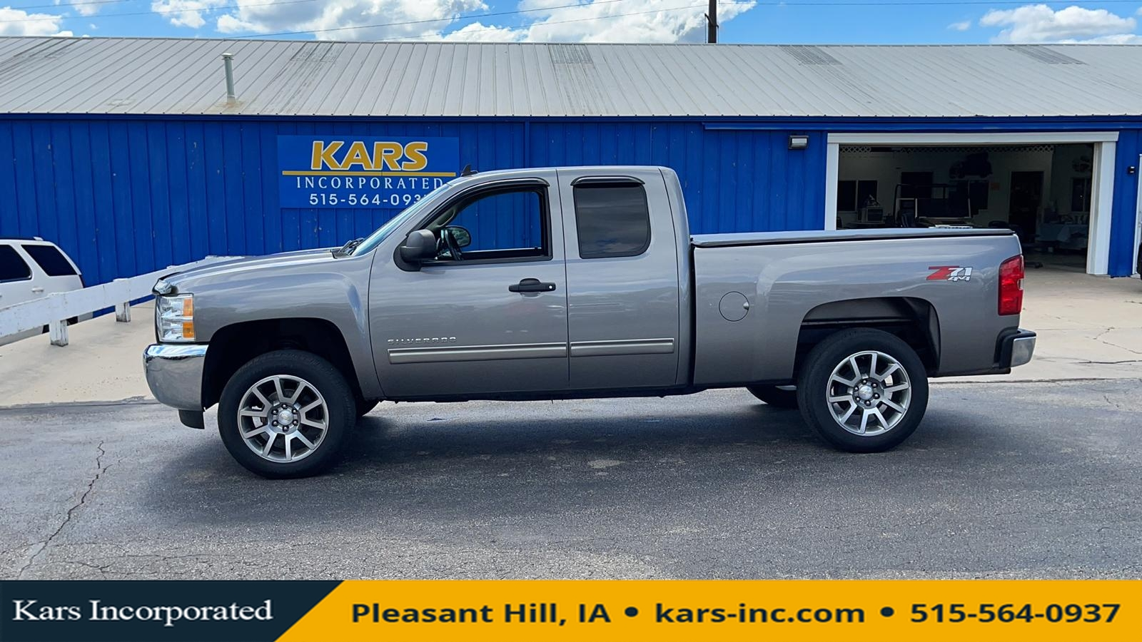 2012 Chevrolet Silverado 1500 LT 4WD Extended Cab  - C62295P  - Kars Incorporated