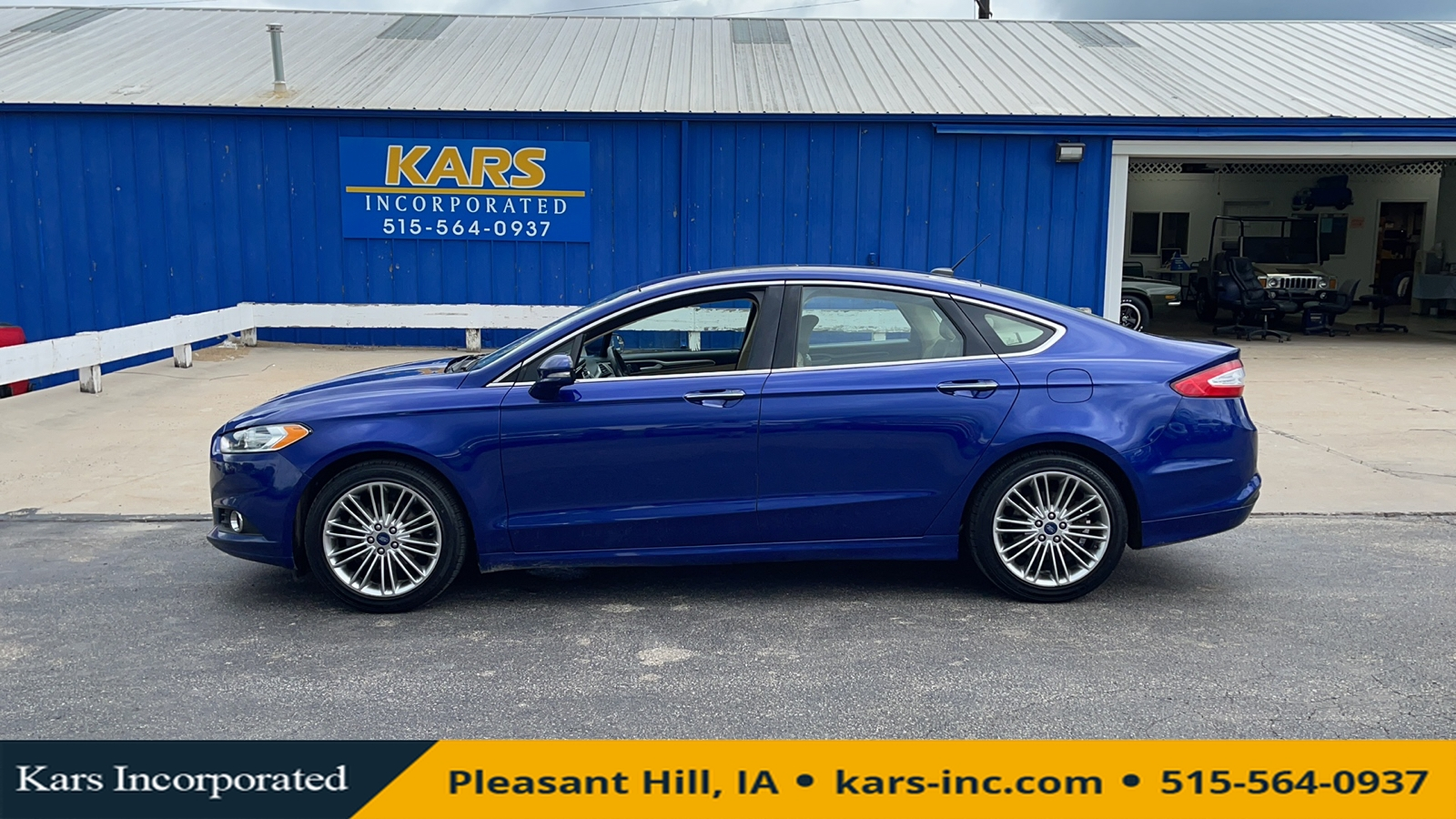 2015 Ford Fusion SE  - F92024P  - Kars Incorporated