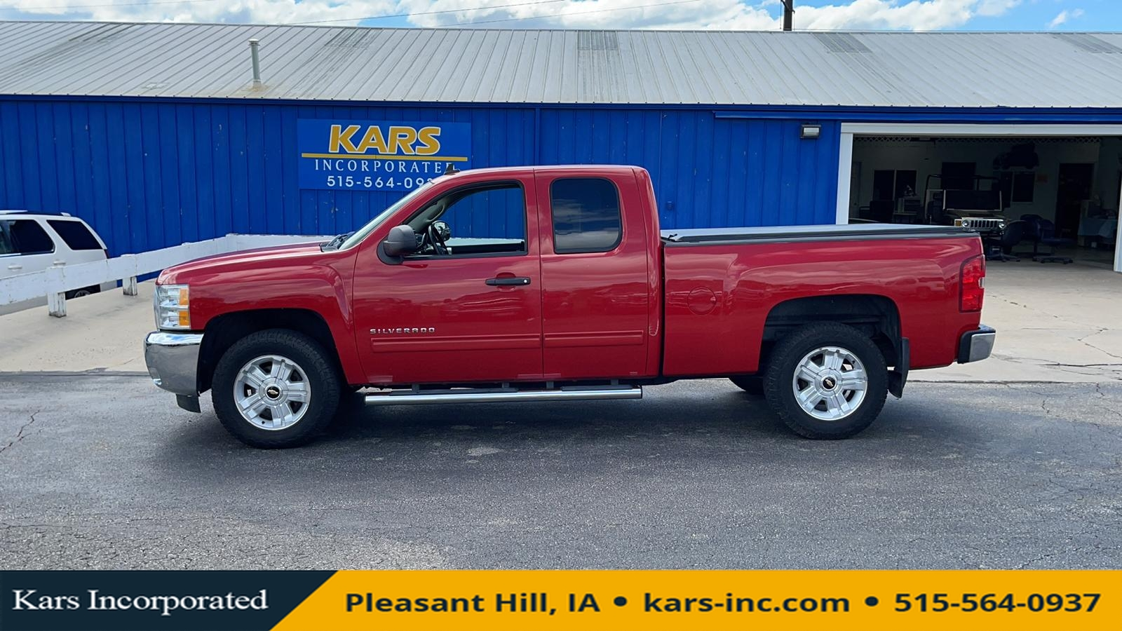 2012 Chevrolet Silverado 1500 LT 4WD Extended Cab  - C75559P  - Kars Incorporated