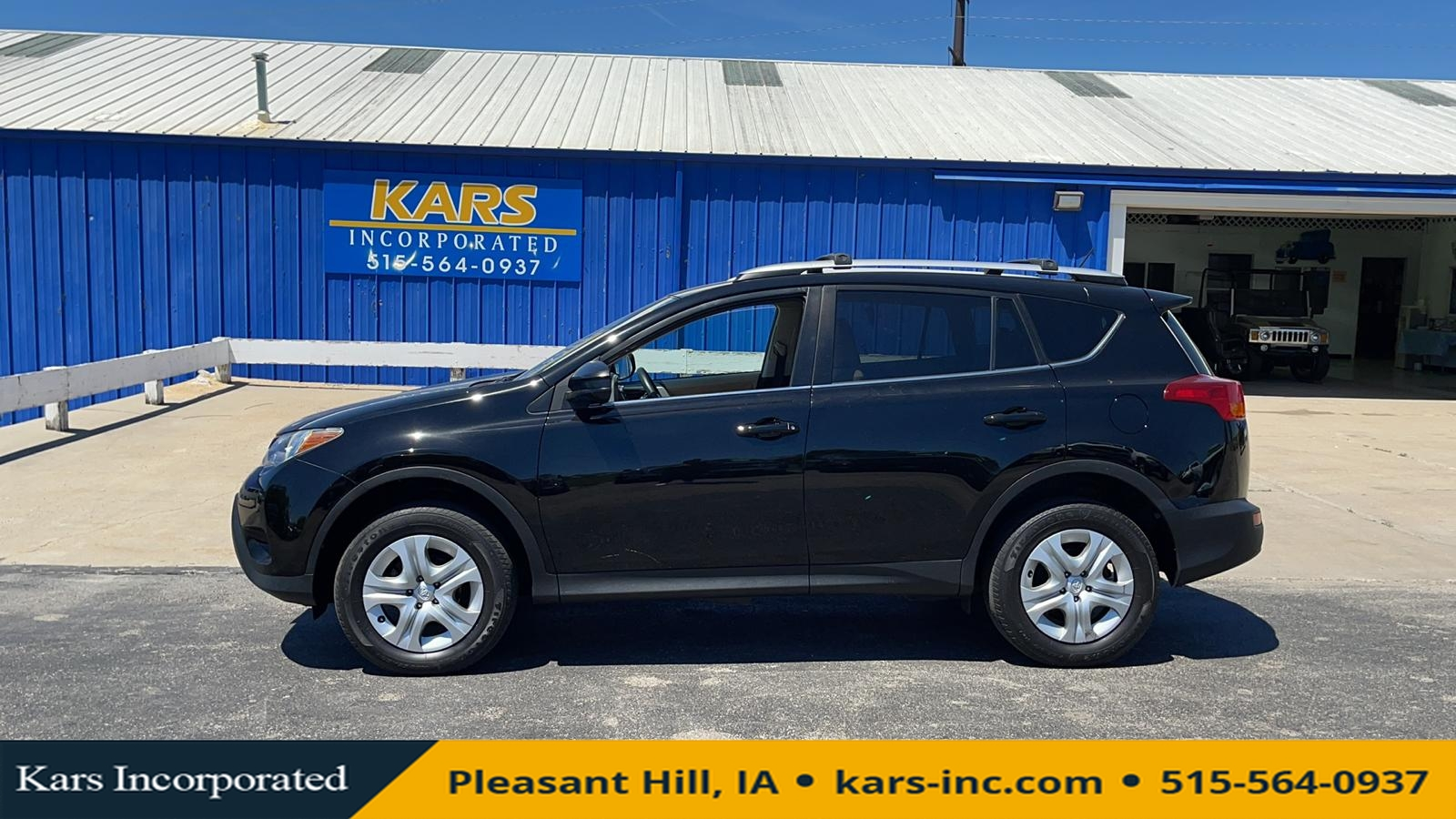 2013 Toyota RAV-4 LE 4WD  - D04998P  - Kars Incorporated