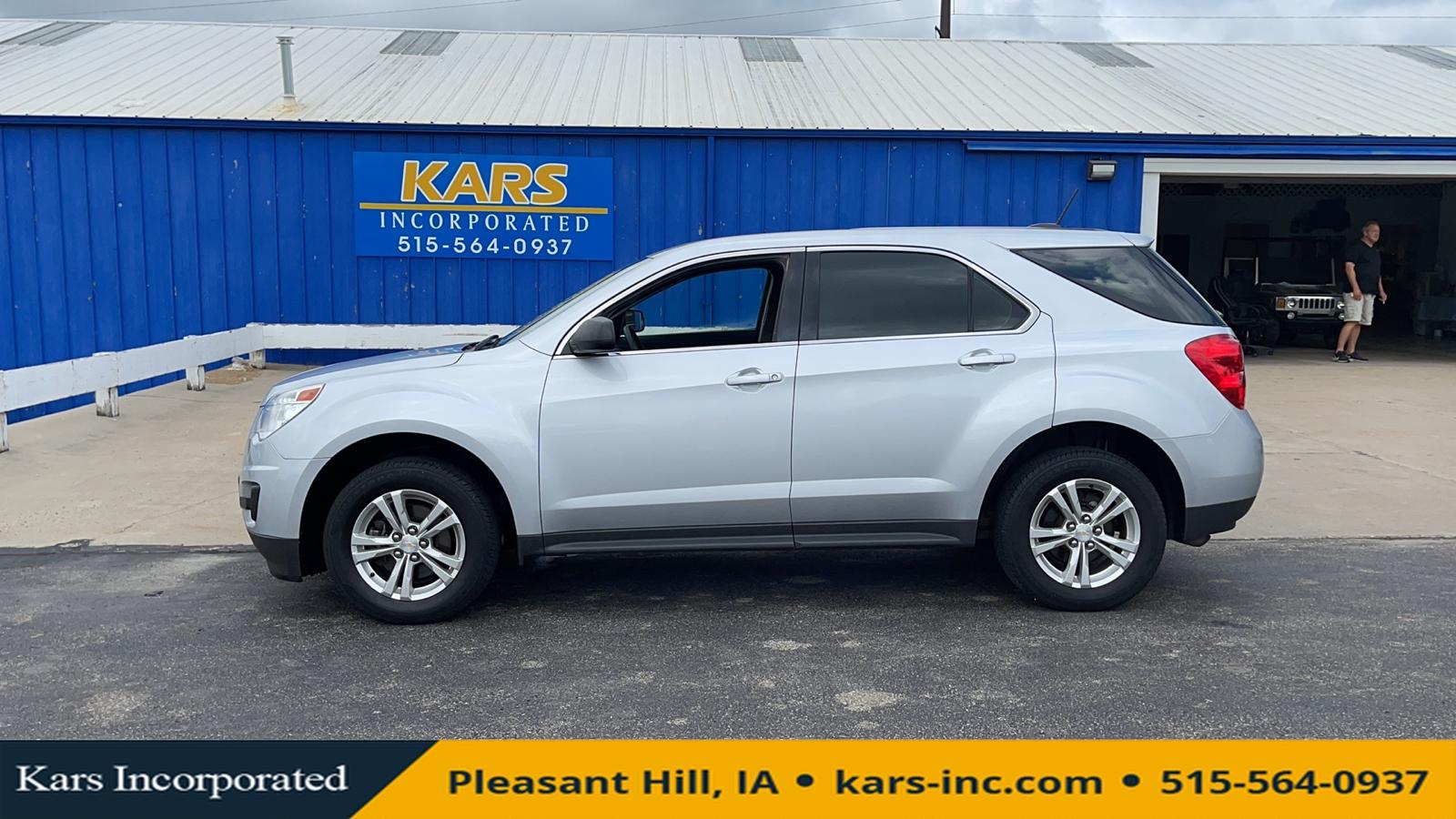 2015 Chevrolet Equinox LS  - F17465P  - Kars Incorporated
