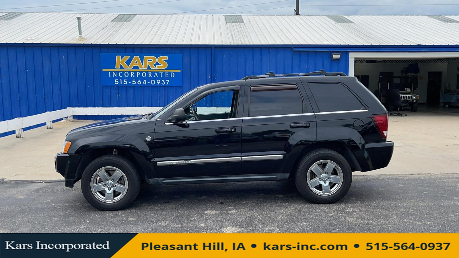 2007 Jeep Grand Cherokee LIMITED 4WD  - 771560P  - Kars Incorporated