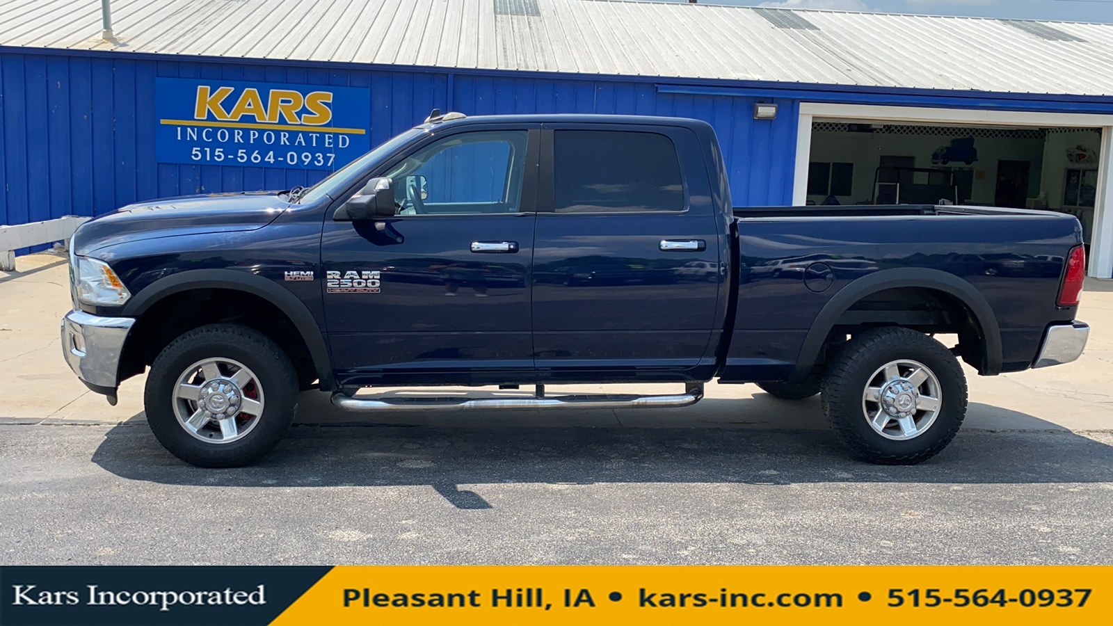 2013 Ram 2500 SLT 4WD Crew Cab  - D08317P  - Kars Incorporated