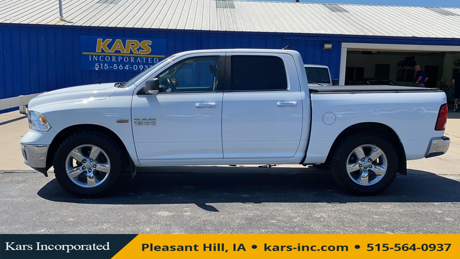 2013 Ram 1500 SLT 4WD Crew Cab  - D25706P  - Kars Incorporated