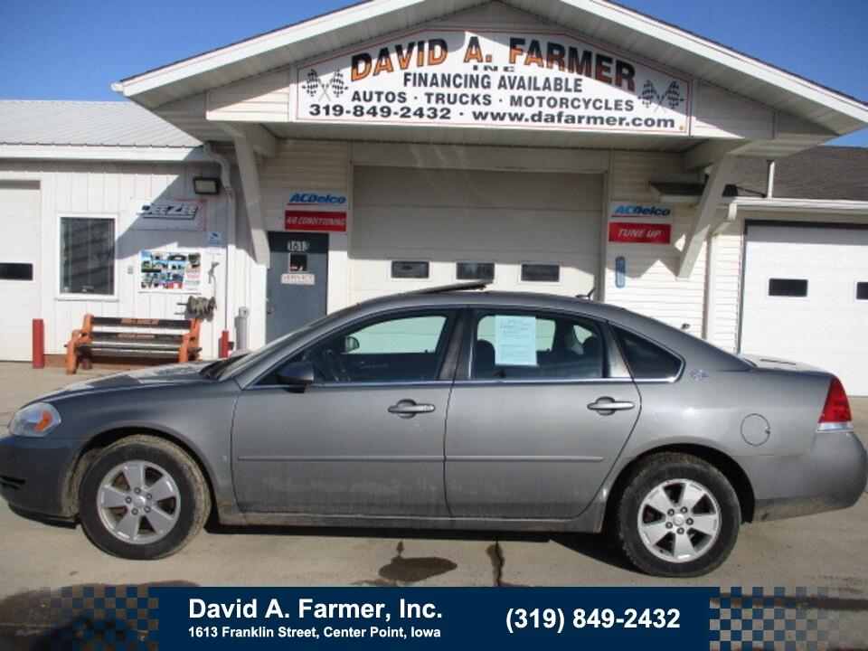 2007 Chevrolet Impala LT 4 Door**1 Owner/Sunroof/Low Miles**  - 4893  - David A. Farmer, Inc.