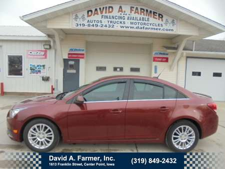 2012 Chevrolet Cruze LT 4 Door Eco**Low Miles/New Tires/Remote Start** for Sale  - 4604  - David A. Farmer, Inc.