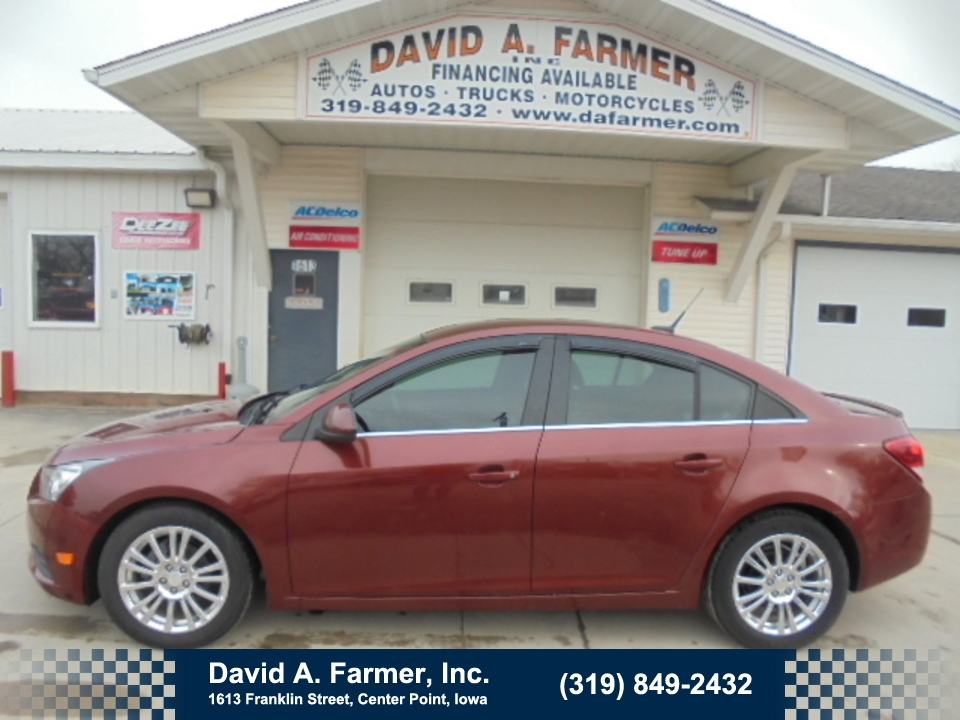 2012 Chevrolet Cruze LT 4 Door Eco**Low Miles/New Tires/Remote Start**  - 4604  - David A. Farmer, Inc.