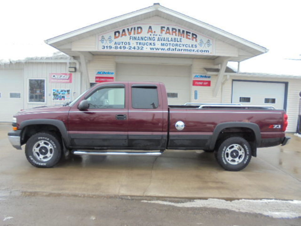 2001 Chevrolet Silverado 1500 LS XCab 4 Door 4X4 Z71 Long Box  - 4602-1  - David A. Farmer, Inc.
