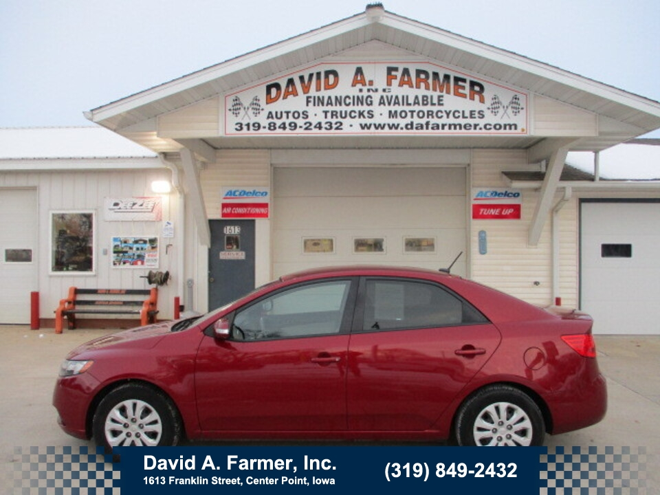 2010 Kia FORTE EX 4 Door**1 Owner/Low Miles**  - 4836  - David A. Farmer, Inc.