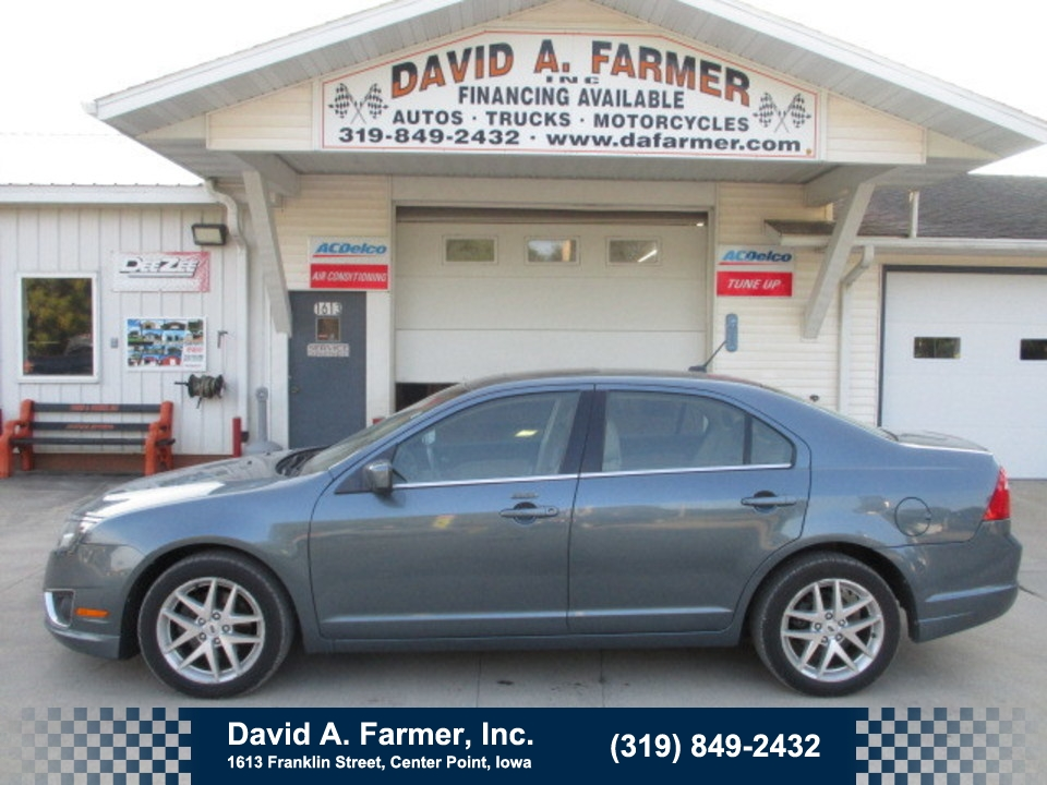 2012 Ford Fusion SEL 4 Door**Heated Leather/Sunroof**  - 4764  - David A. Farmer, Inc.