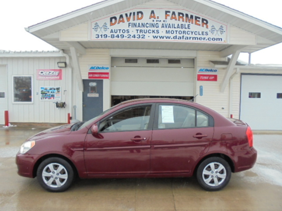 2009 Hyundai Accent GLS 4 Door**Low Mileage**  - 4625  - David A. Farmer, Inc.