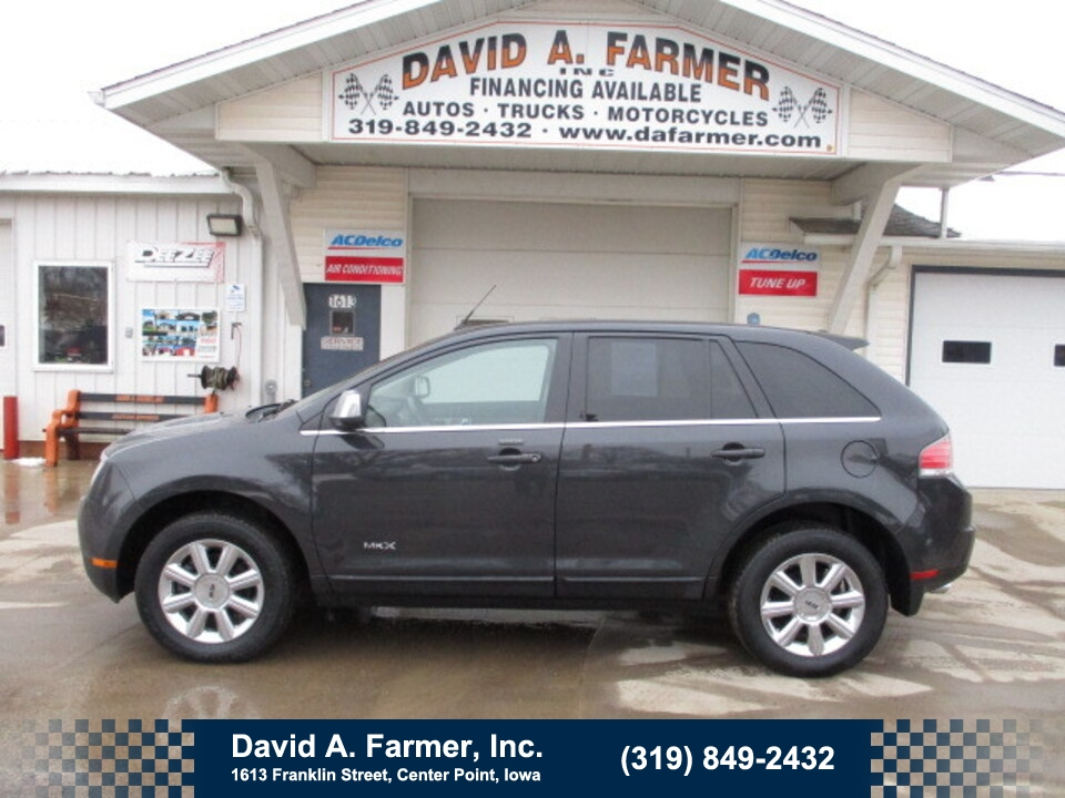2007 Lincoln MKX Elite 4 Door AWD**Low Miles/Leather/Sunroof**  - 4850  - David A. Farmer, Inc.