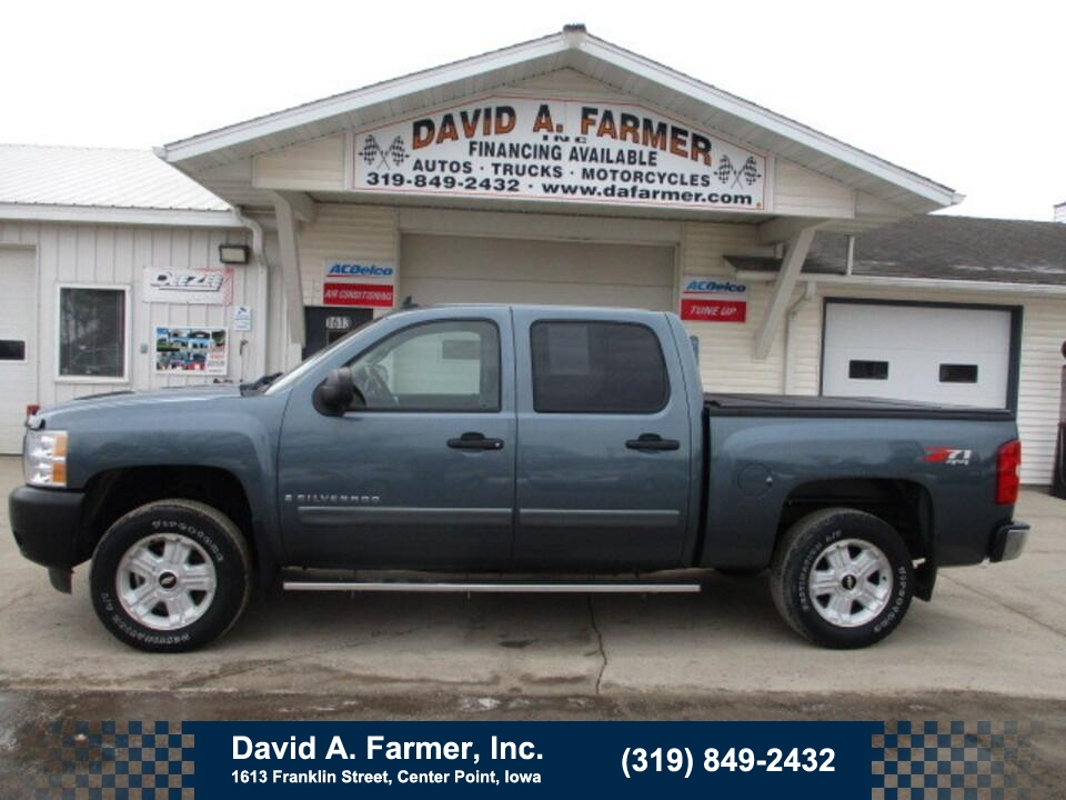 2007 Chevrolet Silverado 1500 LT Crew Cab 4X4 Z71**2 Owner/Sharp/Local Trade**  - 4889-1  - David A. Farmer, Inc.