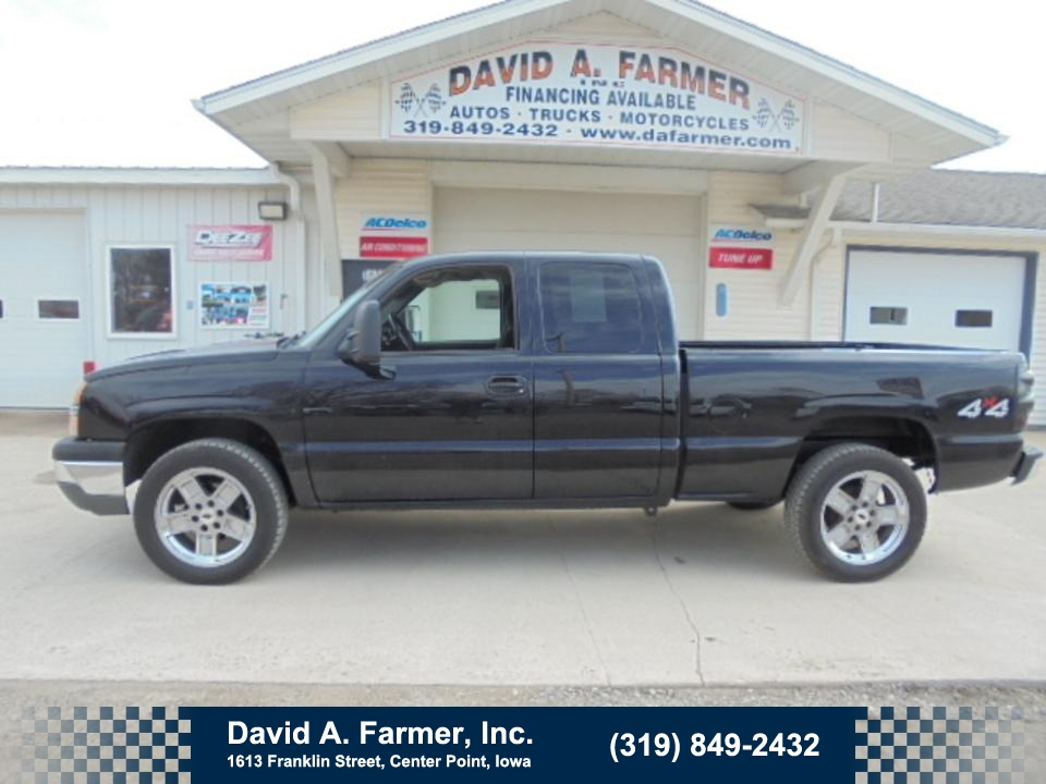2005 Chevrolet Silverado 1500 LT 4 Door 4X4 Z71  - 4666  - David A. Farmer, Inc.