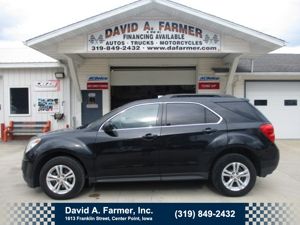2011 Chevrolet Equinox LT AWD**Leather/Back Up Camera/Remote Start**  - 4758  - David A. Farmer, Inc.