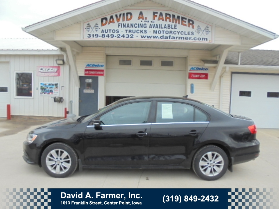 2015 Volkswagen Jetta TDI SE with Connectivity  Door*Low Miles/Diesel*  - 4656  - David A. Farmer, Inc.