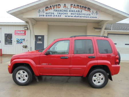 2002 Jeep Liberty Limited Edition 4X4**Heated Leather/Sunroof** for Sale  - 4388-1  - David A. Farmer, Inc.
