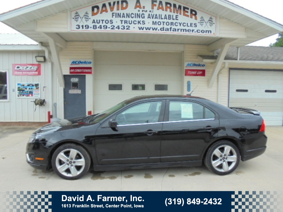2012 Ford Fusion Sport 4 Door**Low Miles**  - 4531  - David A. Farmer, Inc.