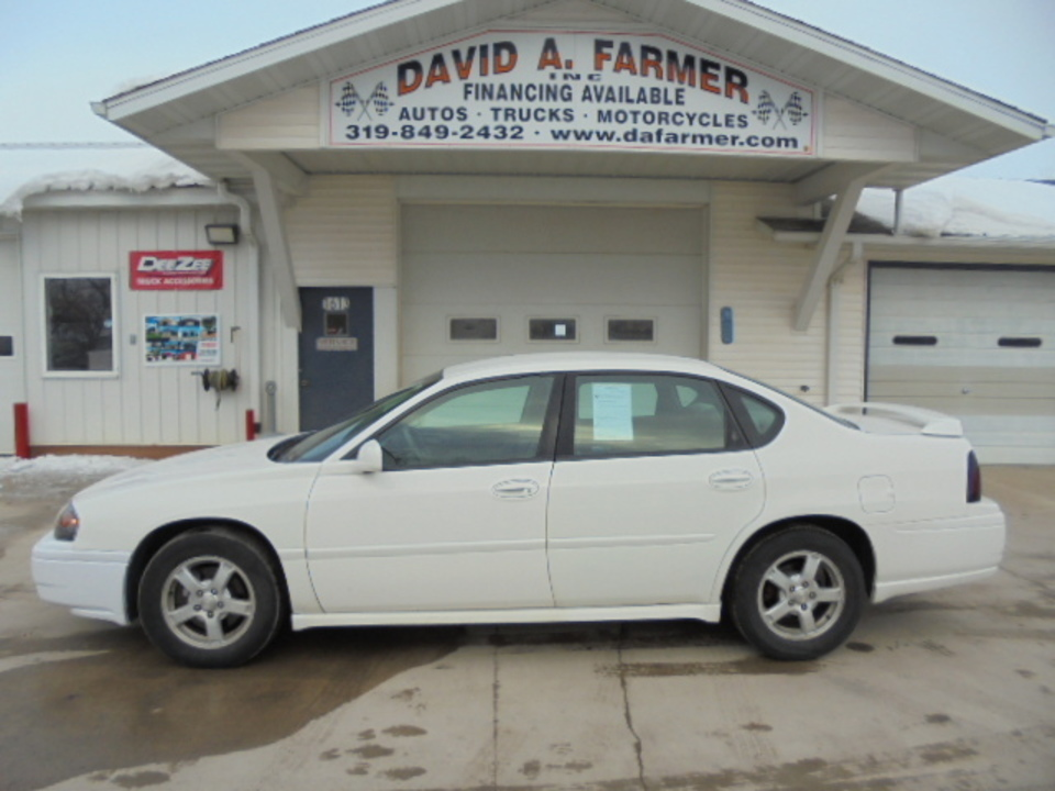 2005 Chevrolet Impala  - David A. Farmer, Inc.