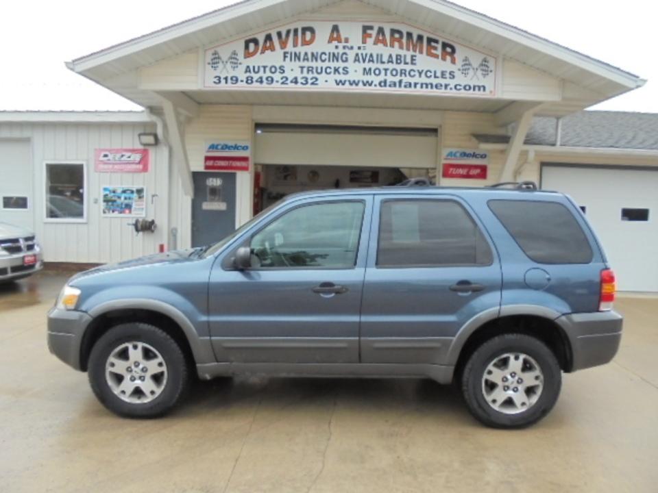 2005 Ford Escape XLT 4 Door 4X4**New Tires/Sunroof**  - 4437-1  - David A. Farmer, Inc.