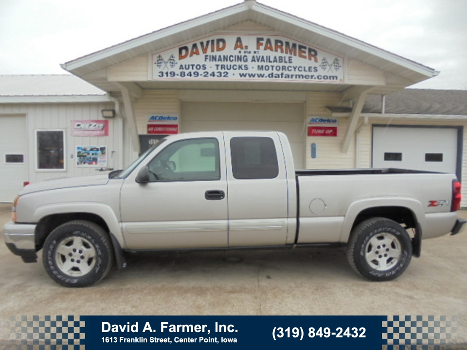 2006 Chevrolet Silverado 1500 LT XCab 4 Door 4X4 Z71**Low Miles/Remote Start**  - 4663  - David A. Farmer, Inc.