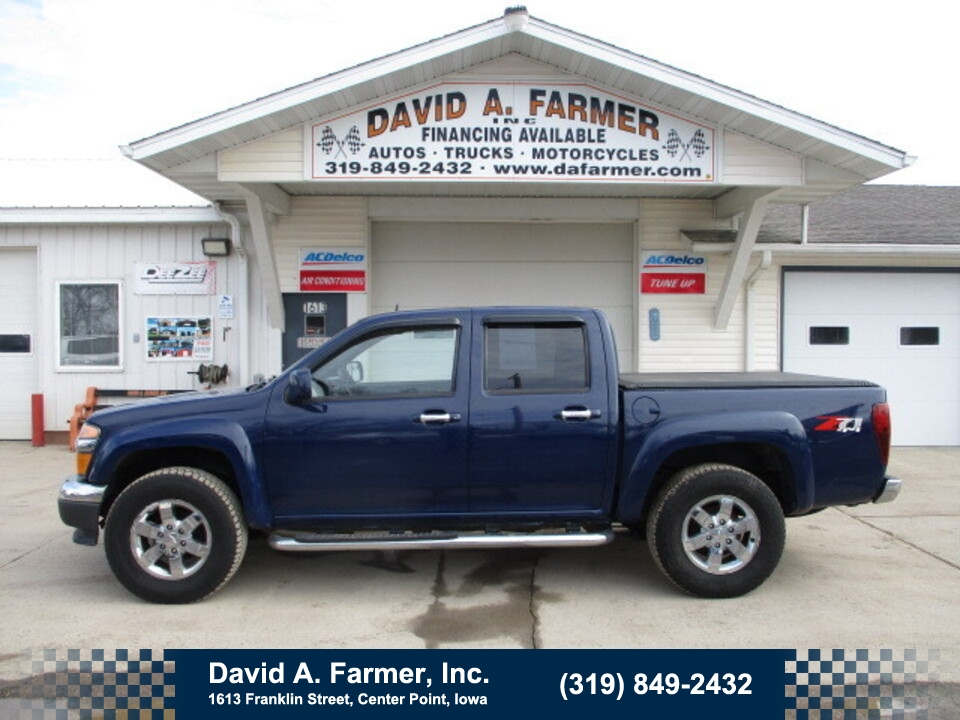 2011 Chevrolet Colorado LT Crew Cab 4X4 Z71  - 4886  - David A. Farmer, Inc.