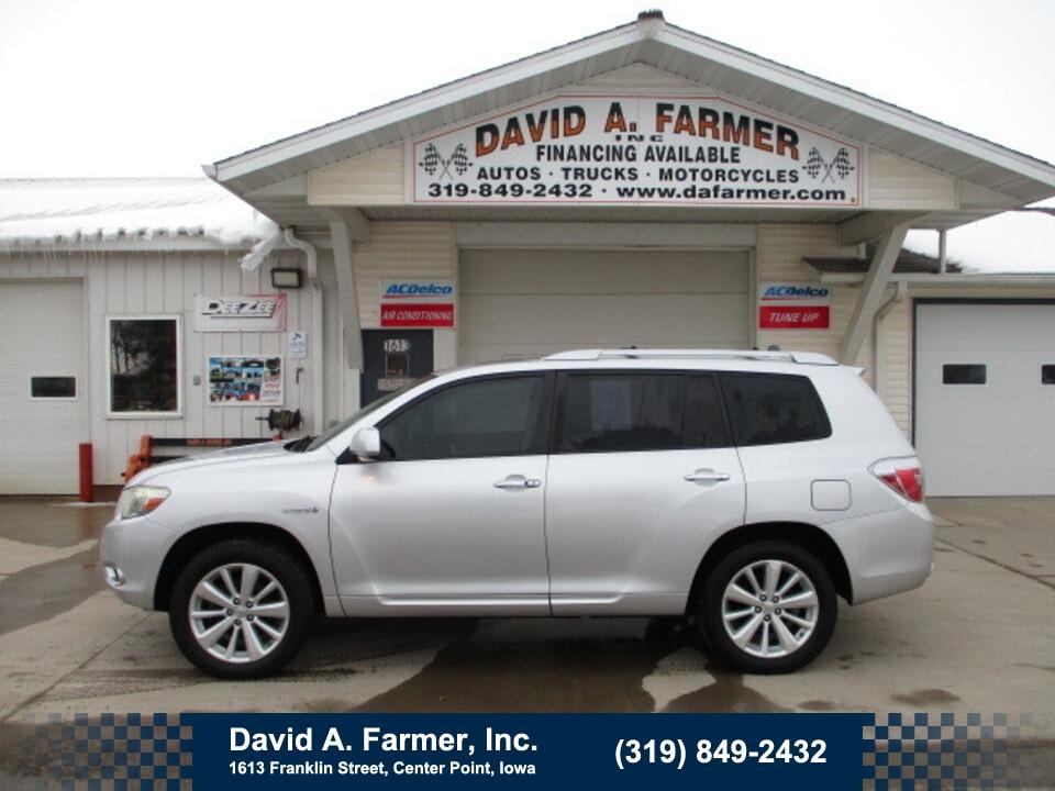 2009 Toyota Highlander Hybrid Limited 4 Door 4X4**Leather/Sunroof/Navigation**  - 4862  - David A. Farmer, Inc.