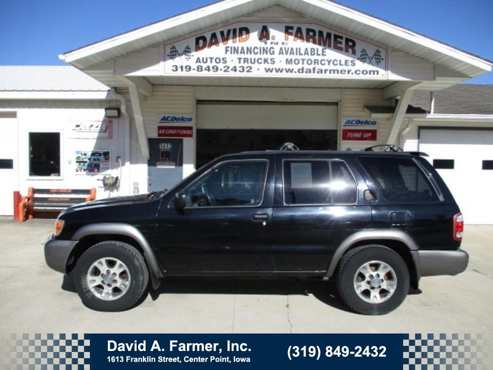 2000 Nissan Pathfinder SE 4 Door 4X4  - 4739-1  - David A. Farmer, Inc.