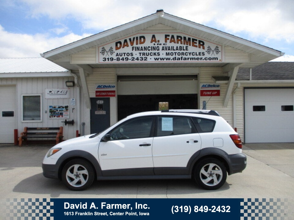 2004 Pontiac Vibe Base 4 Door HatchBack **3 Owner/Low Miles/91K**  - 5080  - David A. Farmer, Inc.