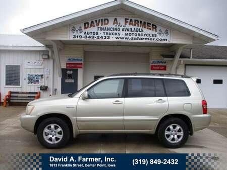 2003 Toyota Highlander Base 4 Door 4X4**Leather/Sunroof** for Sale  - 4919  - David A. Farmer, Inc.