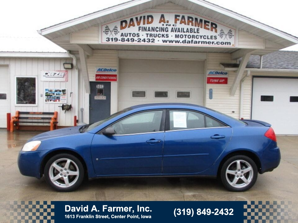 2007 Pontiac G6 4 Door**2 Owner/Low Miles**  - 4809  - David A. Farmer, Inc.