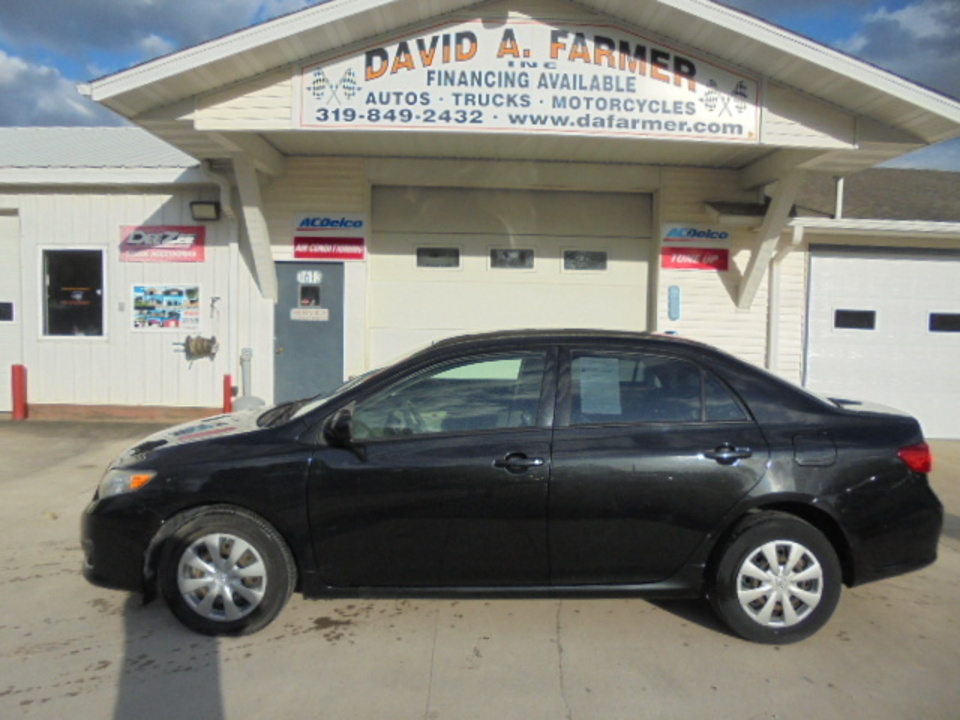 2009 Toyota Corolla LE 4 Door  - 4567  - David A. Farmer, Inc.