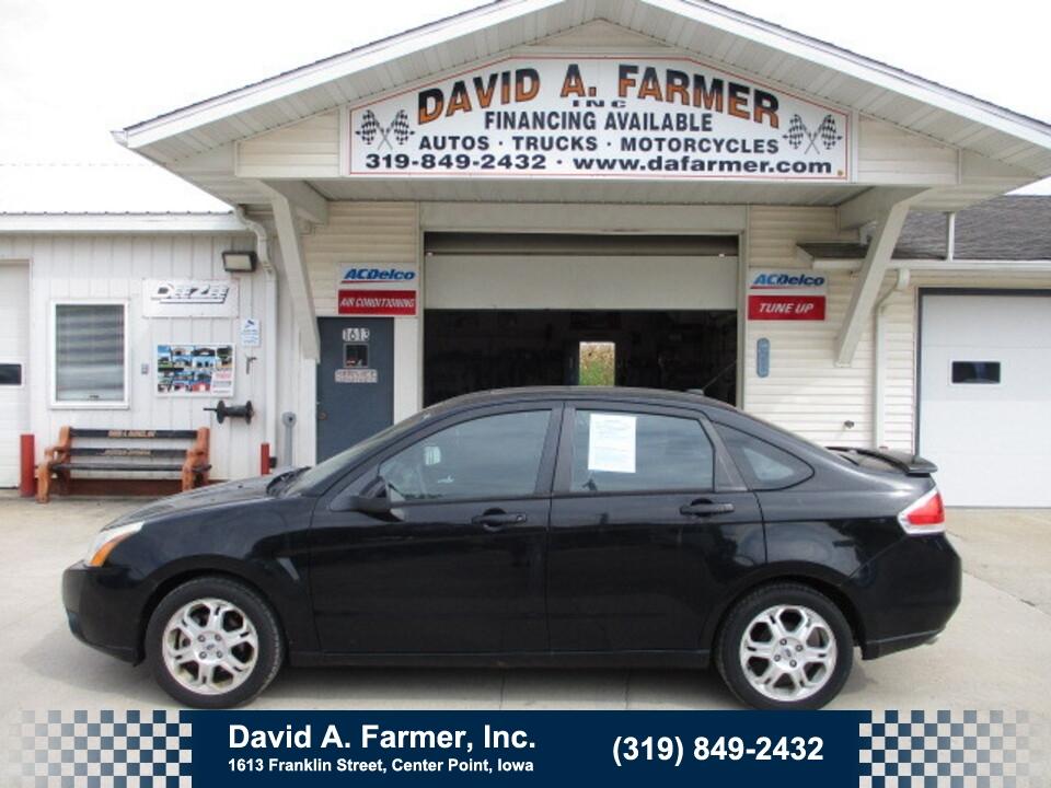 2009 Ford Focus SES 4 Door**2 Owner/Low Miles/76K**  - 5076  - David A. Farmer, Inc.