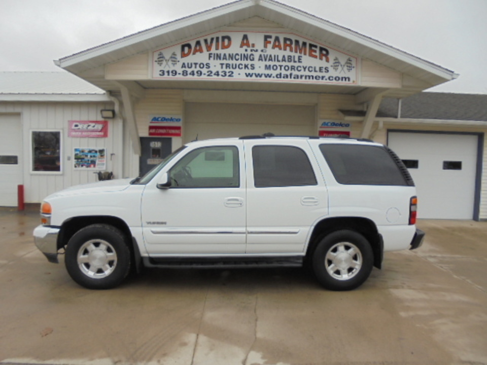 2004 GMC Yukon SLT 4 Door 4X4**Low Miles/Leather/Sunroof/DVD**  - 4595  - David A. Farmer, Inc.