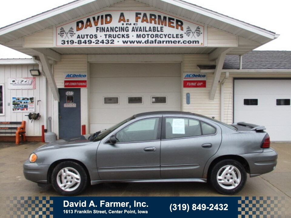 2005 Pontiac Grand Am SE 4 Door  - 4735-1  - David A. Farmer, Inc.