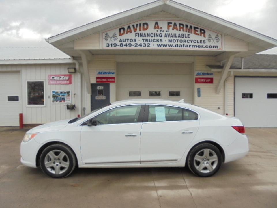 2010 Buick LaCrosse CX 4 Door**Low Miles**  - 4586  - David A. Farmer, Inc.