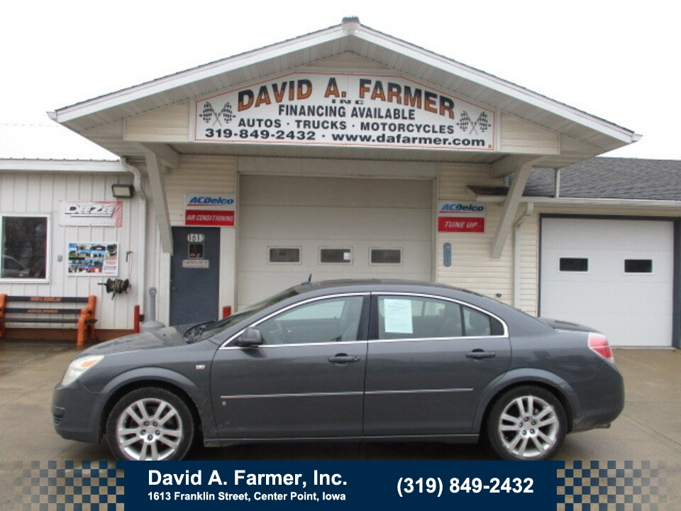 2007 Saturn Aura XE 4 Door**1 Owner/Low Miles**  - 4811  - David A. Farmer, Inc.